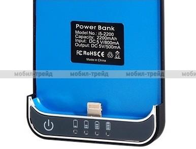 Чехол-аккумулятор для iPhone 5 Power bank